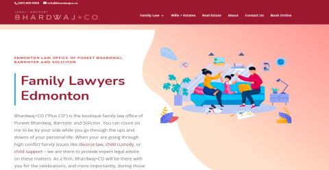 Bhardwaj+Co Family Law MyLawyer Directory