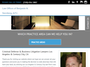 Law Offices of Benjamin Sternberg MyLawyer Directory