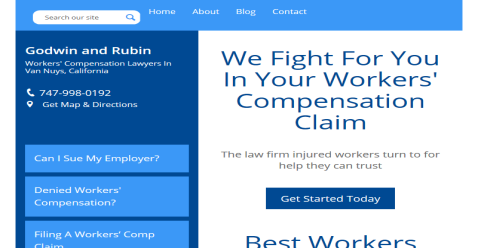Godwin and Rubin - Workers Compensation Attorney Los Angeles MyLawyers Directory