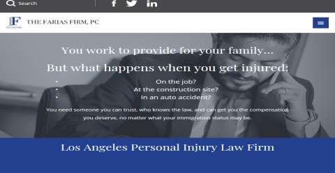 The Farias Firm, PC MyLawyer Directory