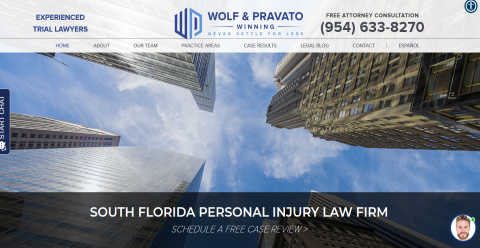 Law Offices of Wolf & Pravato MyLawyers Directory