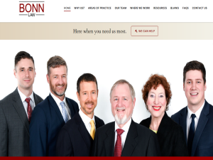 Bonn Law - Trenton & Belleville Personal Injury Lawyers MyLawyer Directory