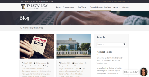 Talkov Law Real Estate & MyLawyer Directory